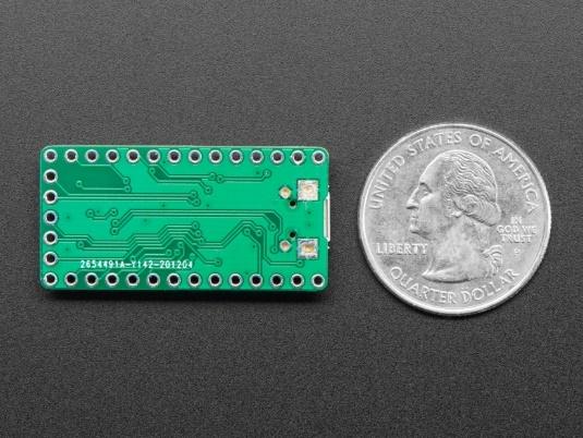 raspberry pi silicon rp2040 board comparison - adafruit itsybitsy rp2040